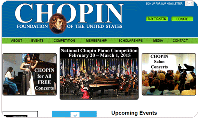 Chopin Foundation of the Untied States