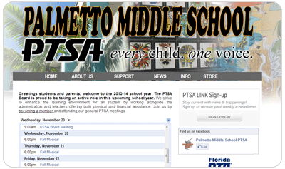 Palmetto Middle School PTSA